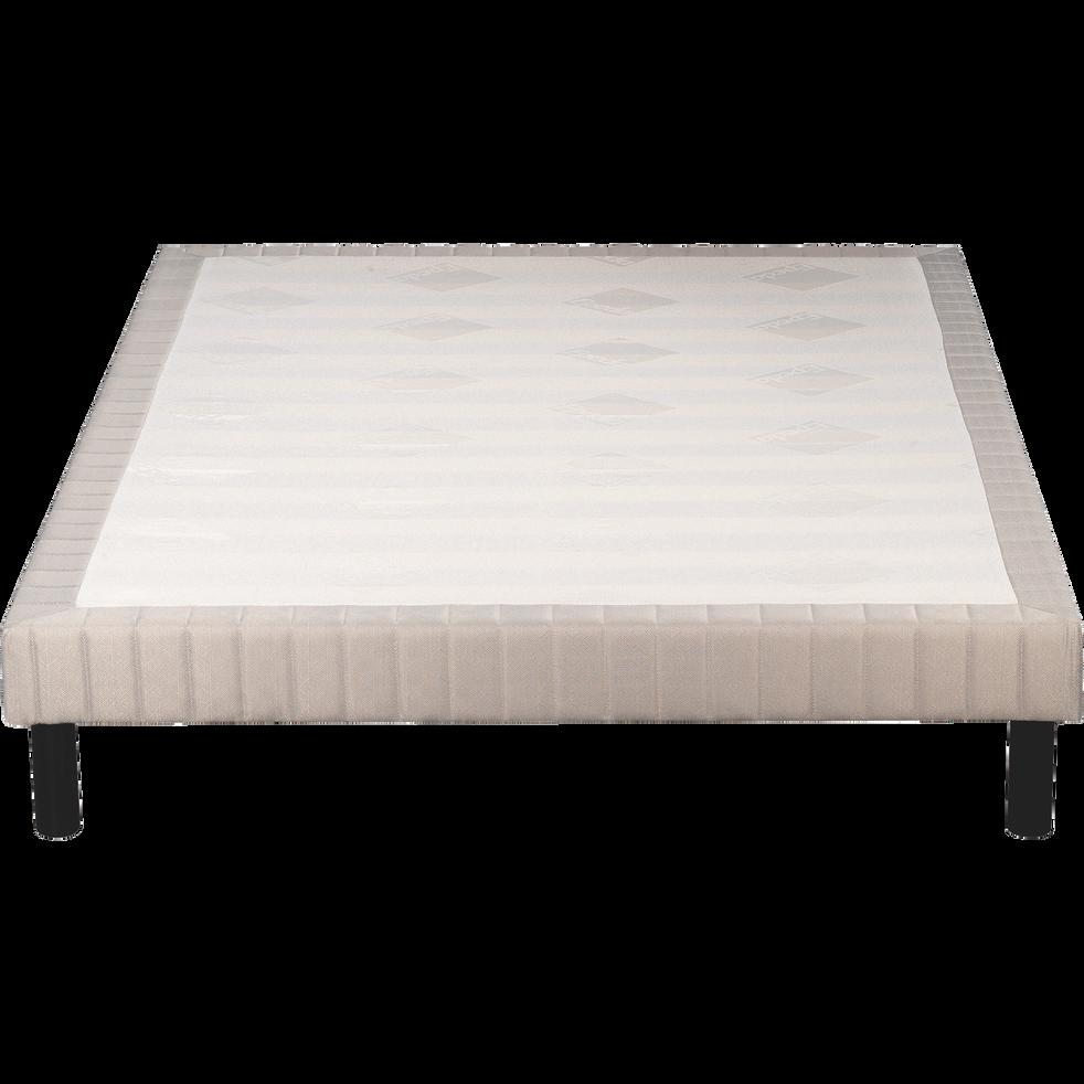 Sommier tapissier Epeda  140X190cm-BASTIDE FERME