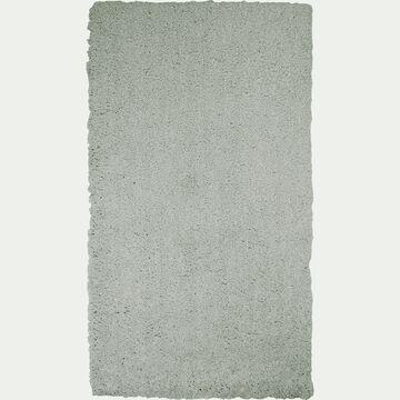 Descente de lit shaggy - vert olivier 60x110cm-CELAN