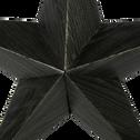 Suspension étoile en papier gris H30cm-ISIDRO