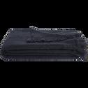 Plaid effet mohair gris calabrun 130x170cm-VALENTINE