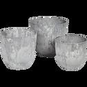 Pot à réserve d'eau gris D28H24cm-BOLA