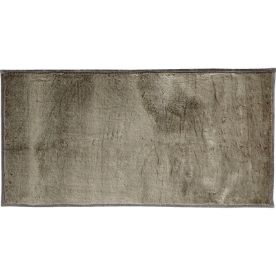 Tapis imitation fourrure gris 60x120cm-Dallas