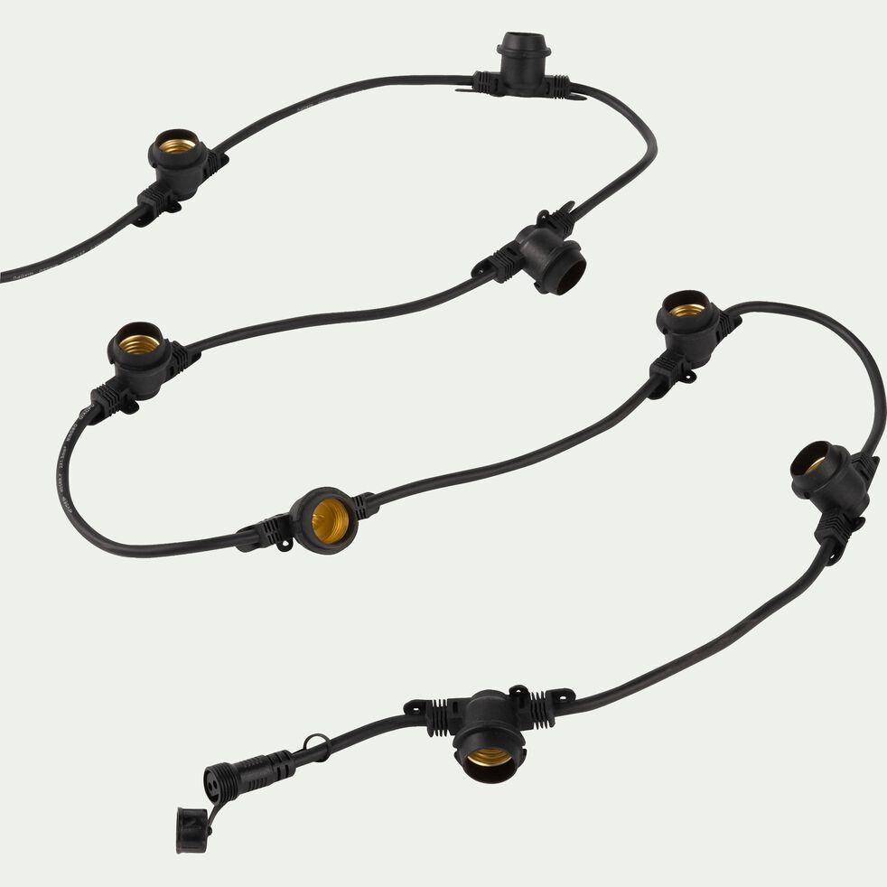 Câble de guirlande 10 culots sans ampoule-MAFY
