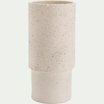 Pot en terre cuite - beige H45cm-PILA