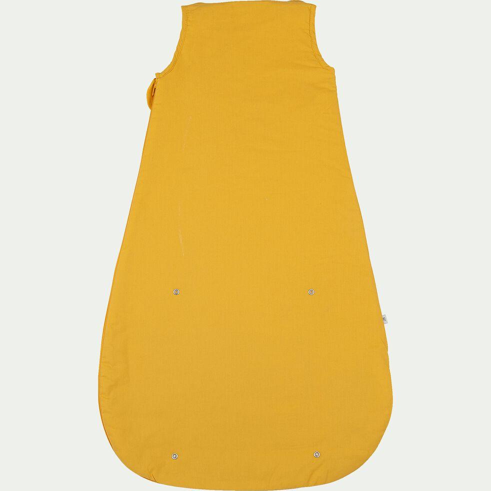 Gigoteuse évolutive en coton bio (70 à 90cm) - jaune moutarde-Plume