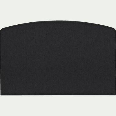 Tête de lit galbée 110x170cm gris anthracite-CORTIOU