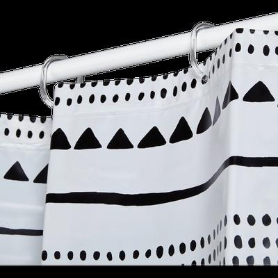 Rideaux de douche et accessoires de douche alinea - Rideau plastique transparent ...