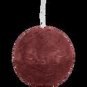 Bougie boule (plusieurs coloris et tailles)-BEJAIA