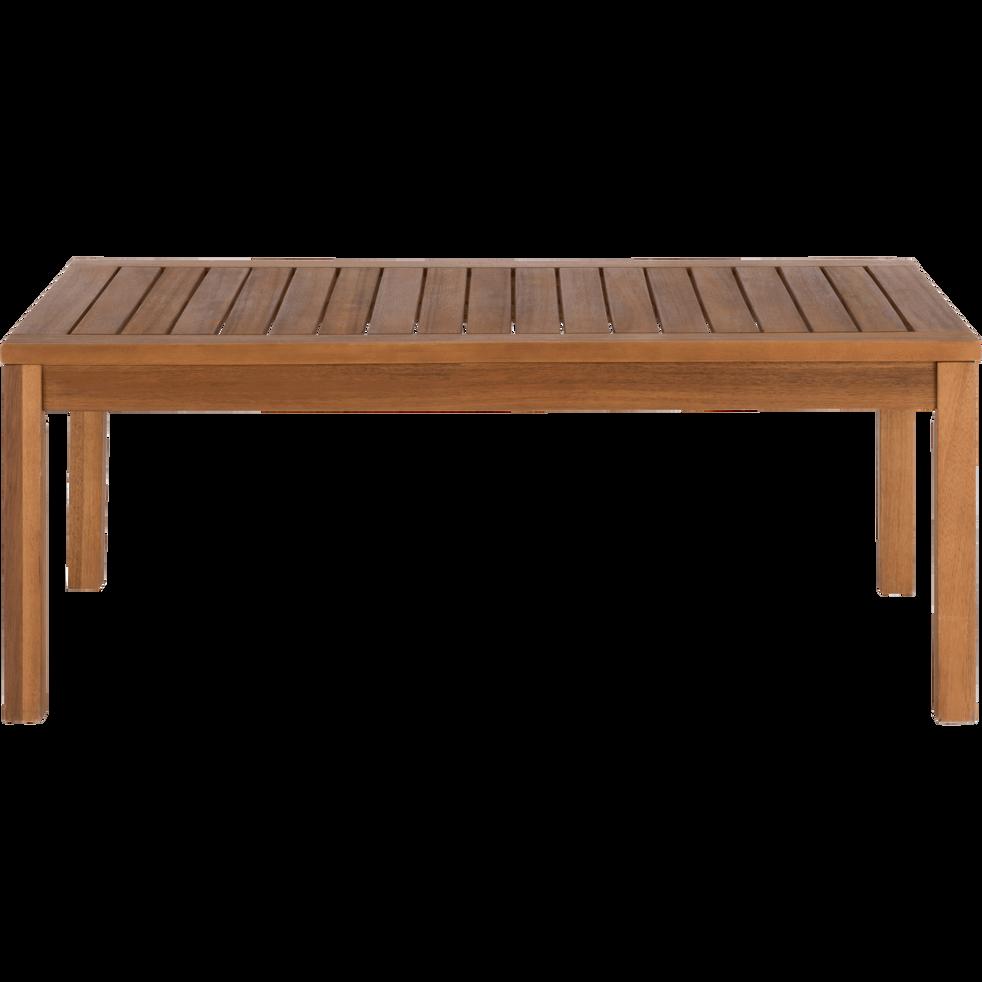 ISSANBRES - Table basse de jardin en acacia