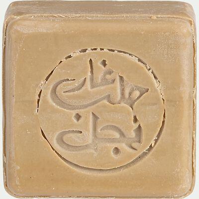 Savon d'Alep à la boue de la Mer Morte - 100g beige-Aya