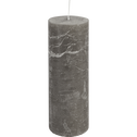 Bougie cylindrique coloris gris restanque-BEJAIA