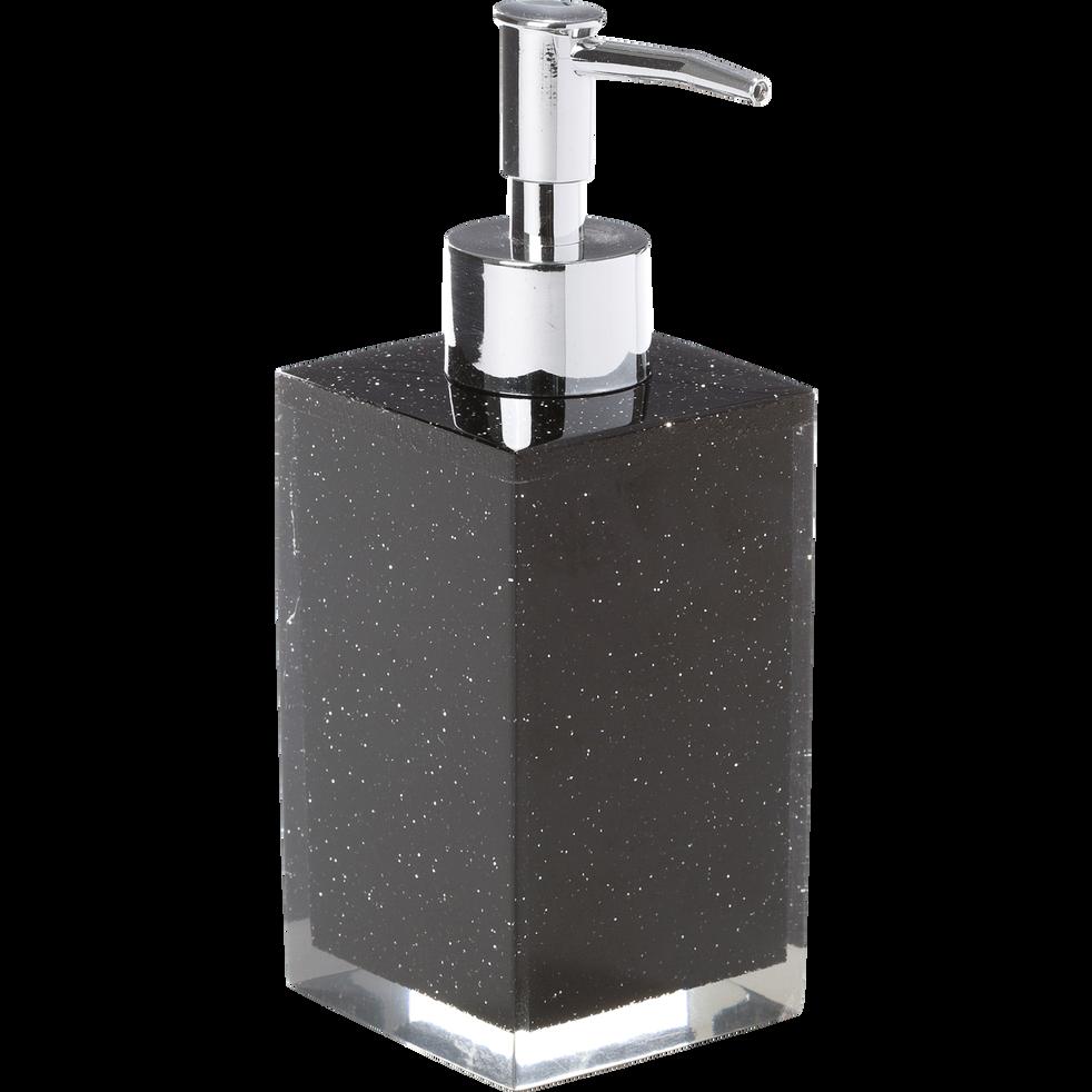Distributeur de savon noir pailleté-Paillette