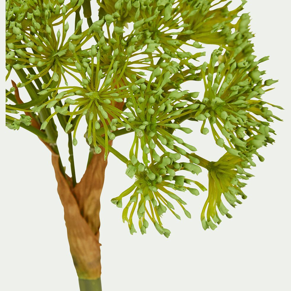 Tige artificiel pin - vert H42cm-Pin