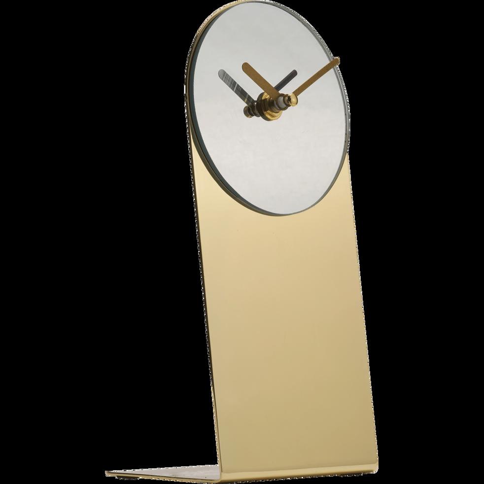 Horloge sur pied doré H22cm-CRATI