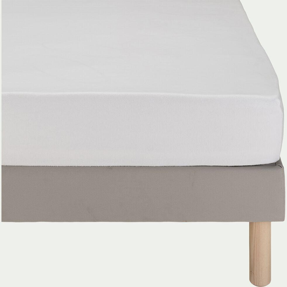 Protège-matelas extensible 100% coton  140x200 cm bonnet 30cm-EXTENS
