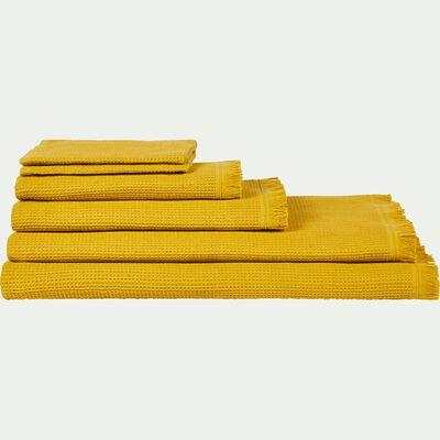 Linge de toilette jaune-JELENA
