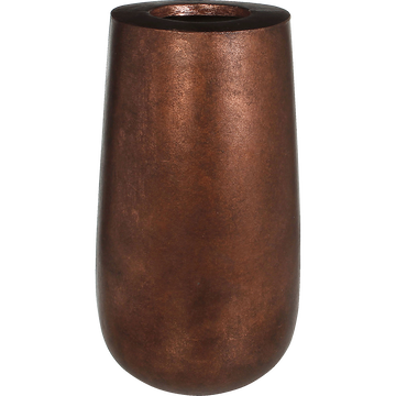 Vase coloris cuivre H46cm-COPA