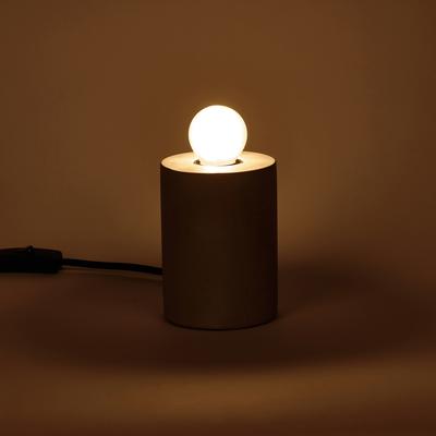 Ampoule LED verre dépoli D4,5cm blanc chaud culot E27-SPHERE