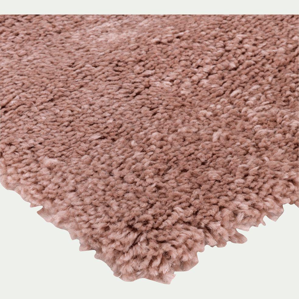 Tapis à poils longs - rose 160x230cm-Kris