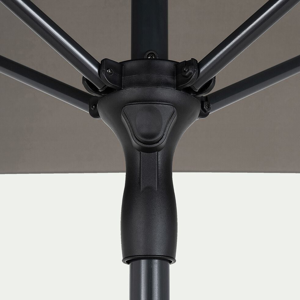 Parasol de balcon en aluminium - vert cèdre (200x300cm)-Draio