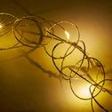 Guirlande lumineuse 190cm - 20 MicroLED blanc chaud-BAGUE
