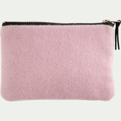 Trousse en velours rose-SAKURA