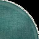 Assiette à dessert en faïence bleue D22cm-SAFIA