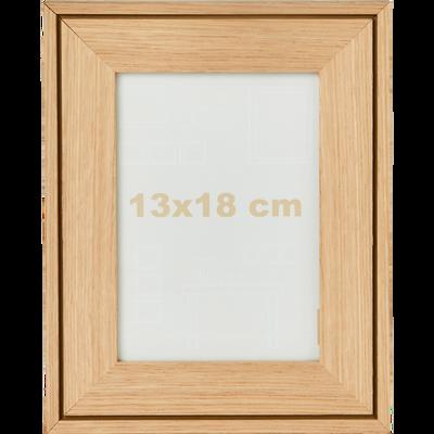 Cadre photo en hêtre 13x18 cm-DELPHINE