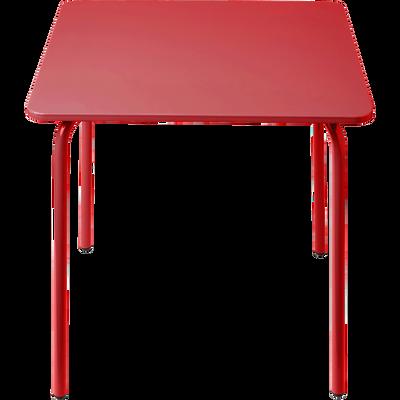 Table de jardin pour enfant rouge-COTIA