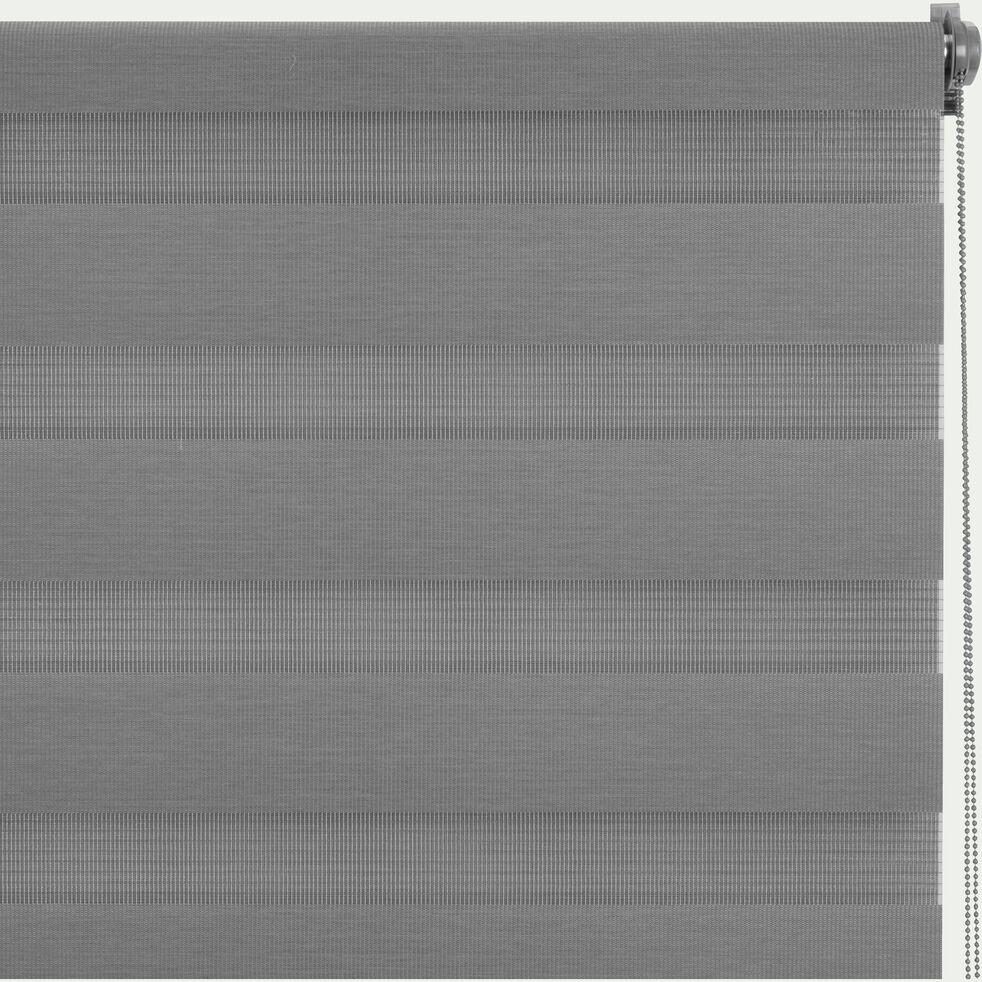 Store enrouleur tamisant - gris anthracite112x190cm-JOUR-NUIT