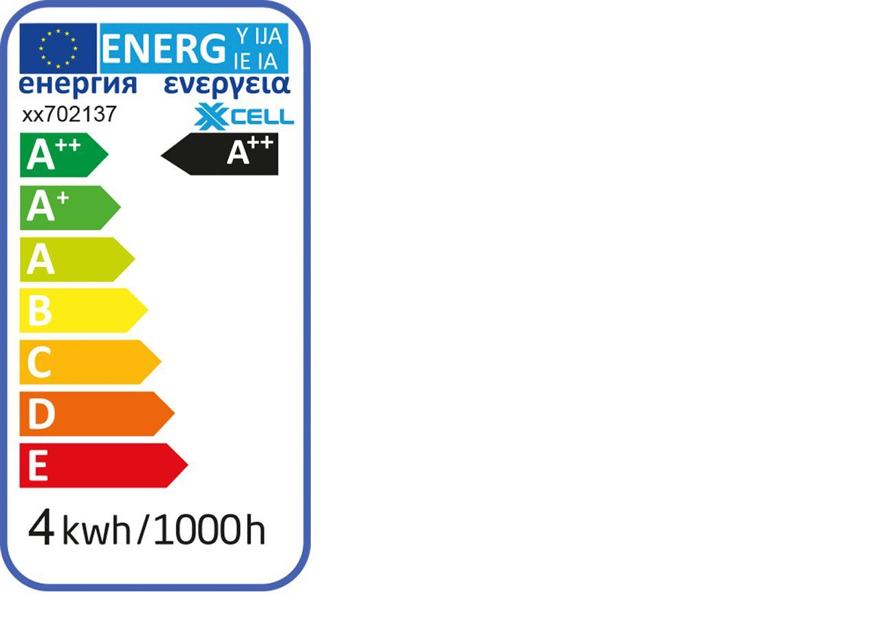 Ampoule LED couleur blanc et luminosité froide - culot G9 - puissance 4,3 watts-G9