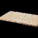 Sommier déroulable à lattes 140x200cm-ROUSSE