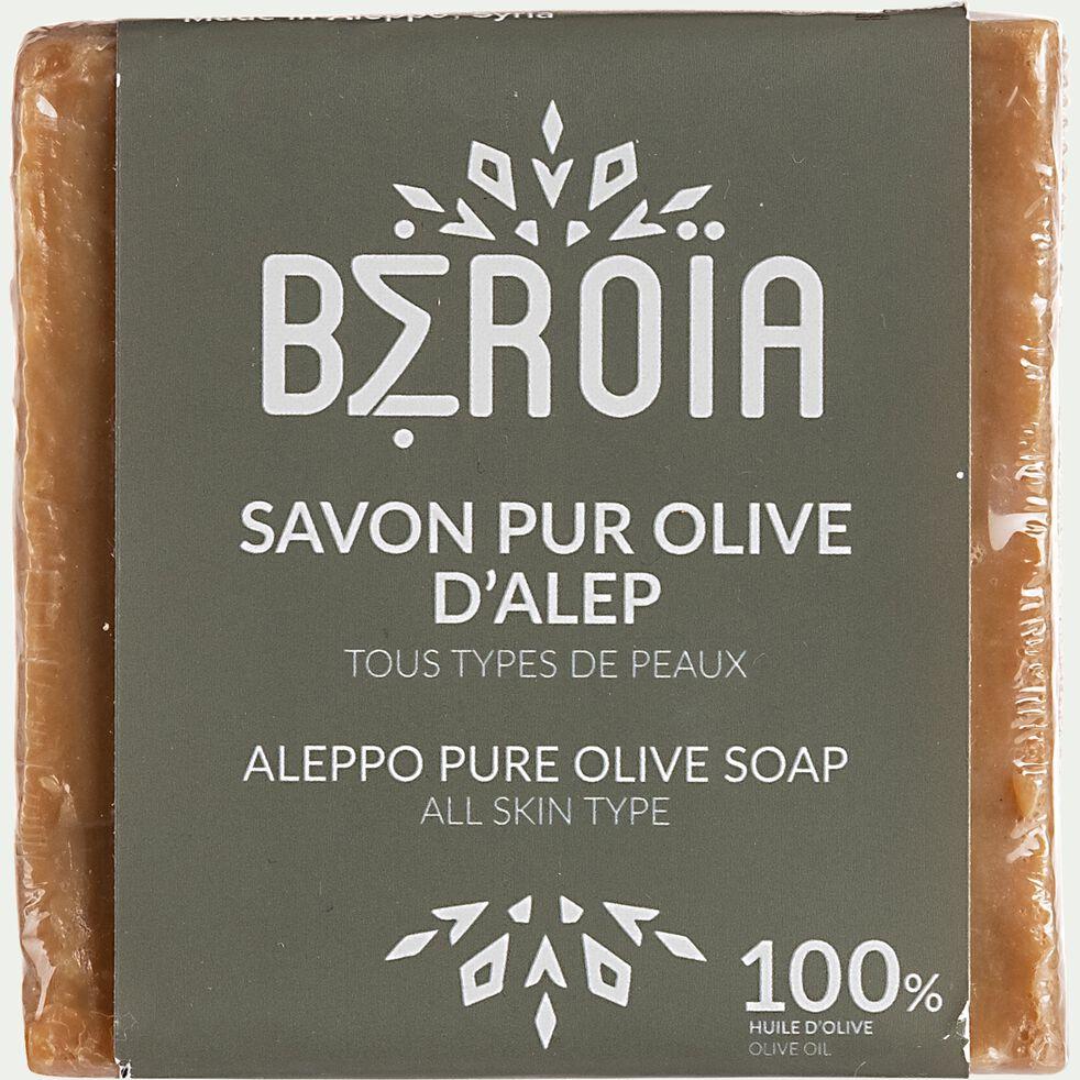 Savon d'Alep à l'huile d'olive pur 200g-Nefis