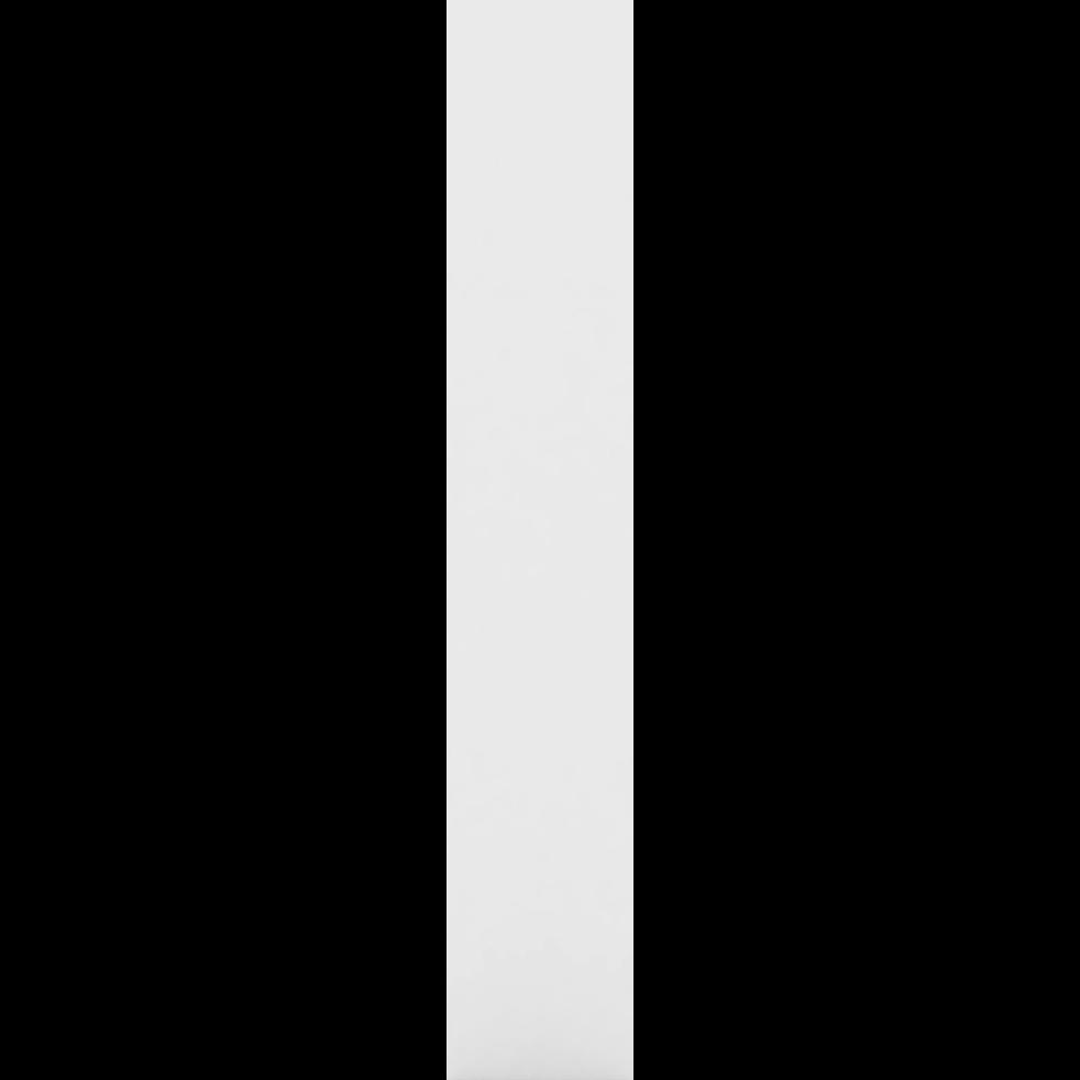 Montant extérieurs blancs L206cm-LORENA