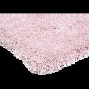 Tapis shaggy rose poudré 60x110cm-CLOUD