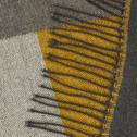 Plaid en acrylique multicolore 130x170cm-MABINI