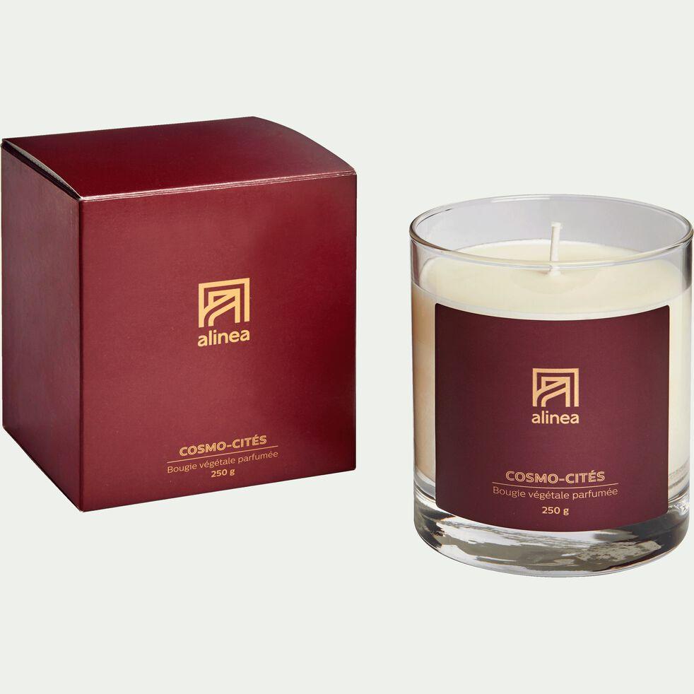 Bougie parfumée Cosmo-cités 250g-COSMO-CITES