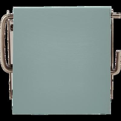 Dérouleur de papier toilette vert céladon-SOLY