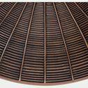 Décoration murale en polyrésine - marron D40cm-PAQUITA