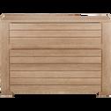 Commode 3 tiroirs bois clair-NATURELA