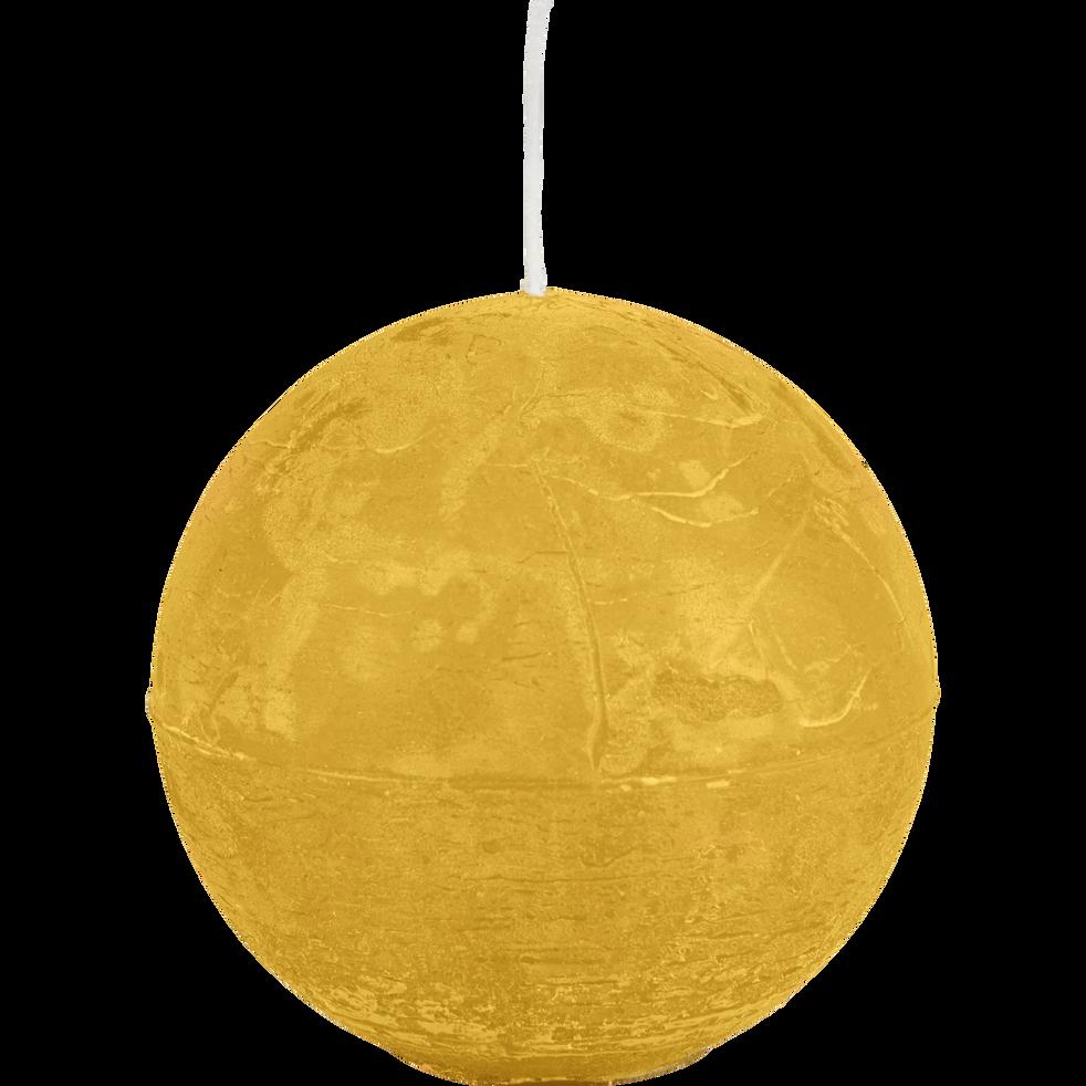 Bougie boule beige nèfle-BEJAIA