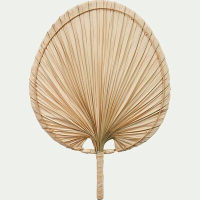 Feuille de palmier éventail - naturel 30x42cm-PAPAGAI