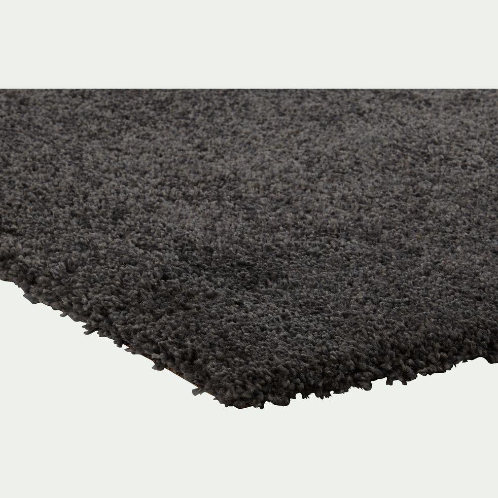 Tapis à poils longs - gris 200x290cm-KRIS