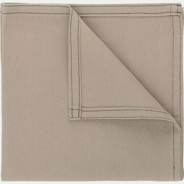 Serviette de table en coton beige alpilles 41x41cm-VENASQUE