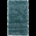 Tapis à poils longs bleu 120x170cm-KRIS