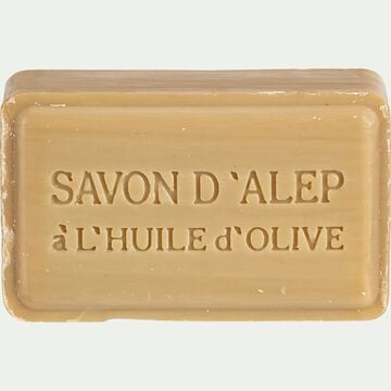 Savon d'Alep 12% rectangulaire 100g-Elias
