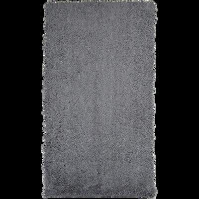 Descente de lit shaggy gris restanque-CELAN