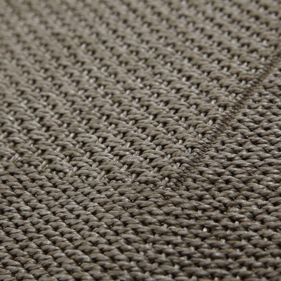 Tapis intérieur et extérieur - gris 200x290cm-KELLY
