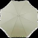 Parasol de plage gris clair D180cm-GASSIN