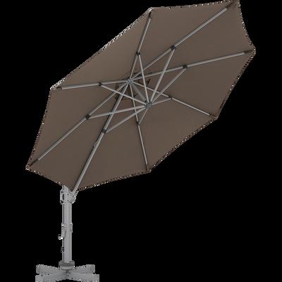 Parasol déportée taupe D3,5cm-ROMA